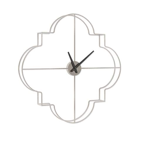 Morrissey Over-sized Metal Wall Clock