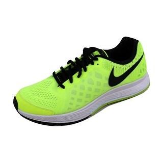 Nike Grade-School Zoom Pegasus 31 Cool Grey/White-Electric Green 654412-700