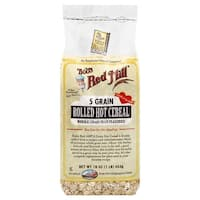 Bob's Red Mill 5 Grain Rolled Hot Cereal - 16 oz - Case of 4