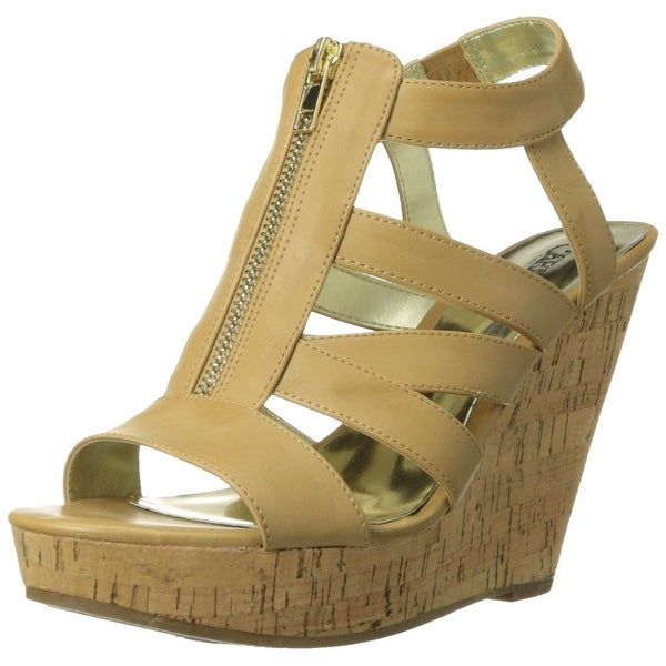 Carlos by Carlos Santana Womens Kaila Fabric Open Toe Casual Platform Sandals