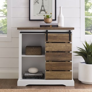 Link to The Gray Barn Kujawa Sliding Slat Door Console Similar Items in TV Consoles