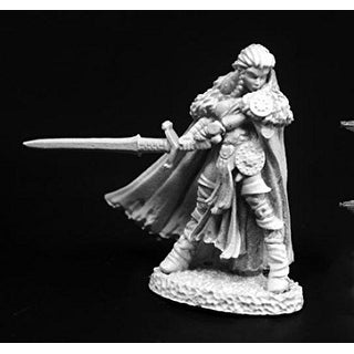 Reaper Miniature Highlander Heroine #03765 Dark Heaven Legends Unpainted Figure