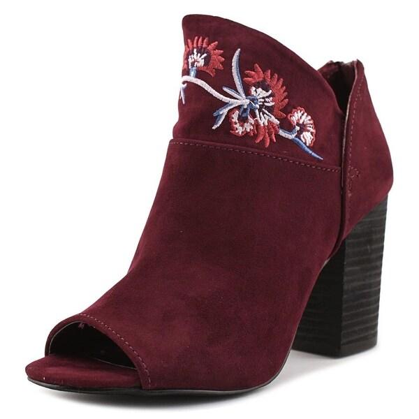 Carlos by Carlos Santana Jazlyn Women Peep-Toe Suede Ankle Boot
