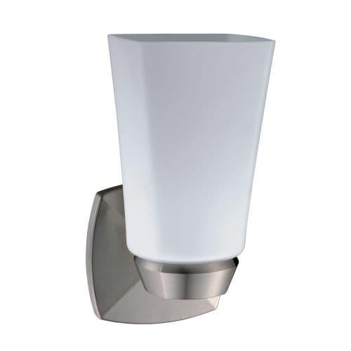 Gatco 1691 Jewel Single Light Bathroom Wall Sconce Satin Nickel Free Shipping Today 21612009