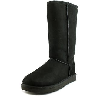 Ugg Australia Classic Tall ll Women Round Toe Suede Black Winter Boot|https://ak1.ostkcdn.com/images/products/is/images/direct/90d6d2ecffe6fb68979fcb27457c6d737c044c26/Ugg-Australia-Classic-Tall-ll-Women-Round-Toe-Suede-Black-Winter-Boot.jpg?impolicy=medium