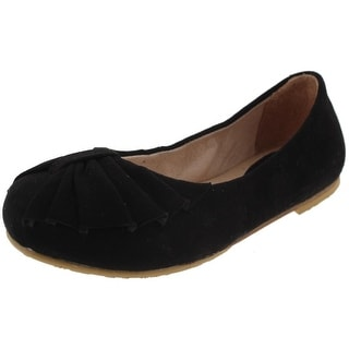 Bloch Girls Valerie Ballet Flats Suede Dance - 2.5 medium (b,m)