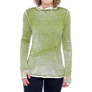 Cullen Long Sleeve Mock Neck Tee Women Regular T-Shirt