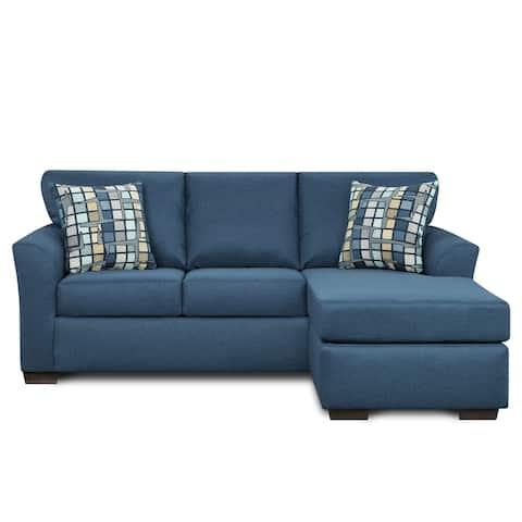 Addison Blue Denim 2pc. Chofa & Loveseat Set