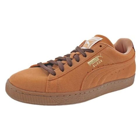 Puma Mens Suede Classic Sneakers Round Toe Casual