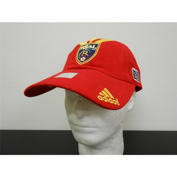 26b44a90ca7 Shop Real Salt Lake Adult One Size Fits All (Osfa) Adidas Cap Hat ...