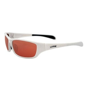 Maxx Sunglasses Major White Frame HD Amber Lenses