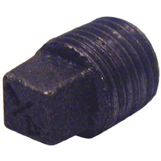 PanNext B-PLG12 Plain Plug 1-1/4, Black