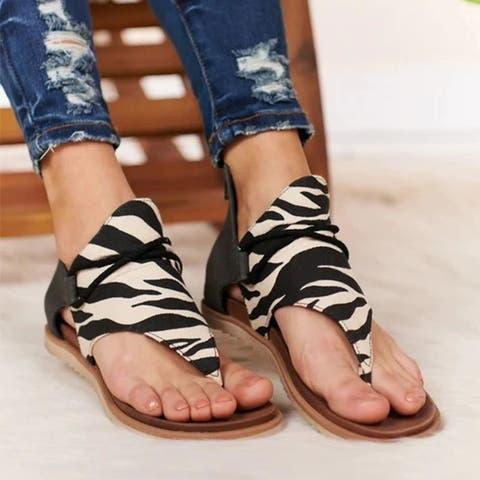 Women's Non-Slip Clip Flat Sandals 3 Colors