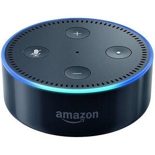 Amazon 53005166HD Echo Dot 2nd Generation Smart Speaker - Black-NEW