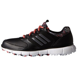 Adidas Women's Adistar Sport Black/Grey/Sunset Coral Golf Shoes F33298
