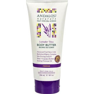 Andalou Naturals - Lavender Shea Firming Body Butter ( 1 - 8 OZ)