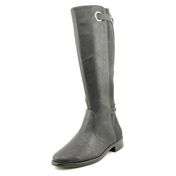 Aerosoles One Wish Women Round Toe Synthetic Black Knee High Boot