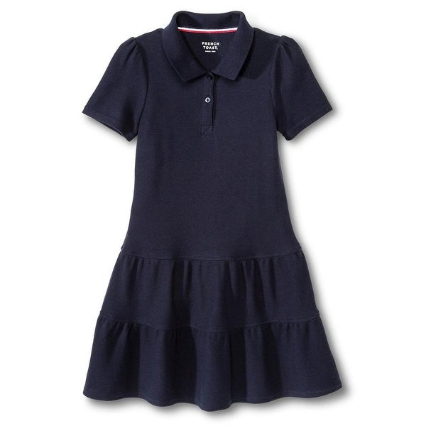 Shop French Toast Girls 2T-4T Ruffled Pique Dress - Free Shipping On Orders  Over  45 - Overstock.com - 20601098 e262e34cc172