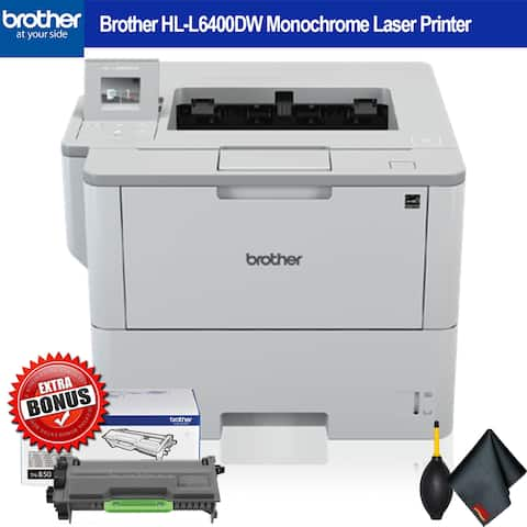 Brother Monochrome Laser Printer Extra Bundle