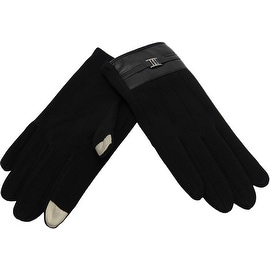 Men Gloves Fingertips Touchscreen Texting, Fall Winter, Cell Phone Text