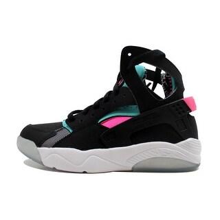 Nike Grade-School Flight Huarache Black/Light Retro-Pink Power 705281-003
