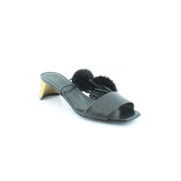 Gucci Heloise Sandal Women's Sandals & Flip Flops Nero/Nero - 6