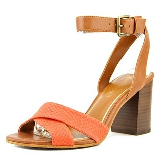 Enzo Angiolini Gabele Open Toe Leather Sandals