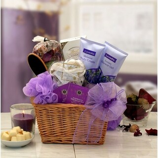 Link to Lavender Relaxation Spa Gift Basket Similar Items in Spa & Relaxation Baskets