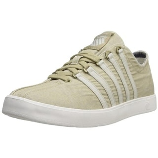 K-Swiss Mens The Classic Lite T Canvas Lightweight Fashion Sneakers - 7 medium (d)