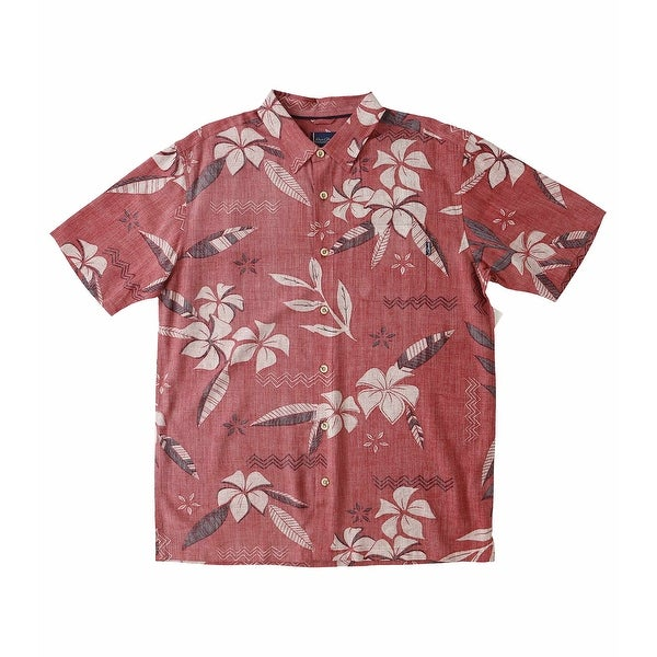 c163a5026a5990 Shop Jack O'Neill NEW Red Mens Size 2XL Floral Printed Hawaiian Shirt -  Free Shipping On Orders Over $45 - Overstock.com - 21471870