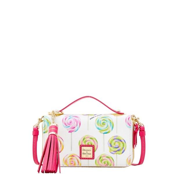 a98e4161c95c1a Dooney & Bourke Swirl Lollipop Willis Clutch Sammi Tassel Wallet  (Introduced by Dooney &