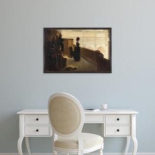 Easy Art Prints 's 'The Organ Rehearsal' Premium Canvas Art