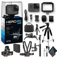 GoPro HERO5 Black 12MP Waterproof 4K Camera Camcorder   Extreme Action Kit