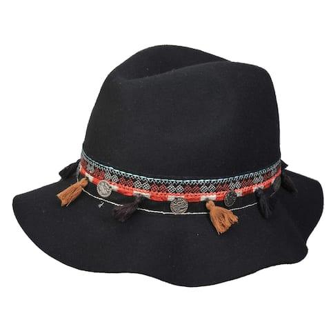 Top Headwear Sun Hat w/ Tribal Band