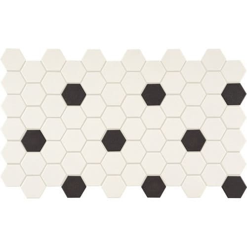 Daltile Dk2hexgmsp Keystones 2 X 2 Hexagon Mosaic Multi Surface