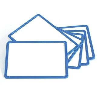 Magnetic Plastic Framed Whiteboards Set Of 6