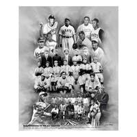 ''Barnstorming to the Big Leagues'' by Wishum Gregory Celebrities Art Print (11 x 8.5 in.)
