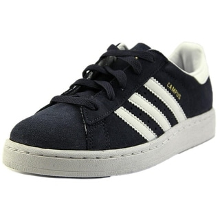 Adidas Campus II K Youth Round Toe Suede Blue Sneakers