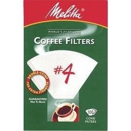 Melitta White #4 Coffee Filter