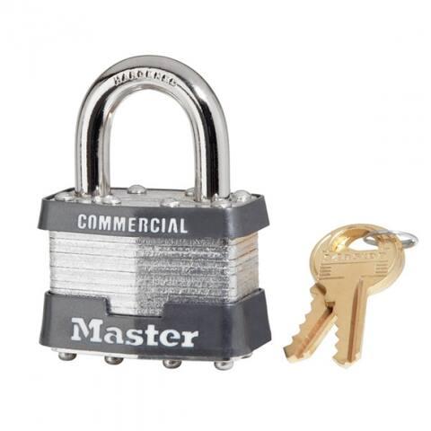 """Master Lock 1KA-2179 Keyed Alike Laminated Steel Padlock, 1-3/4"""""""
