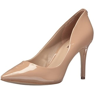 Guess Womens Bennie Patent Pointed Toe Pumps