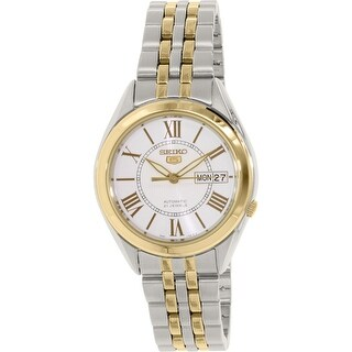 Seiko Men's 5 Automatic Multi Stainless-Steel Automatic Dress Watch