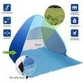 Portable Beach Tent Outdoor Sun Shelter 90-percent UV Protection - Thumbnail 10