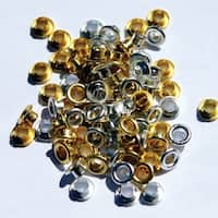 Eyelet Outlet Quicklets Round 84/Pkg-Anodized 2