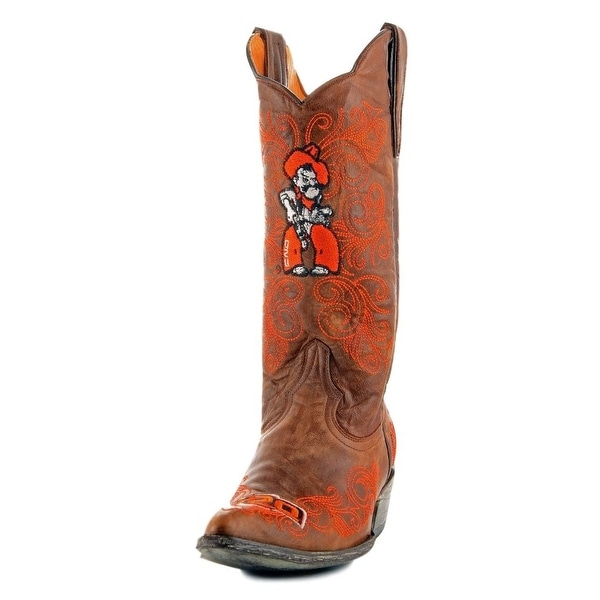 Gameday Boots Womens College Team Oklahoma State Brass