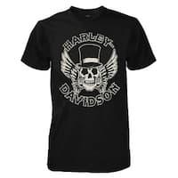 Harley-Davidson Men's Way of Life Skull Short Sleeve T-Shirt Black 30298308