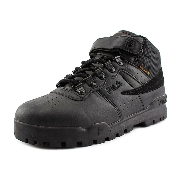 Fila F-13 Weather Tech Round Toe Leather Sneakers