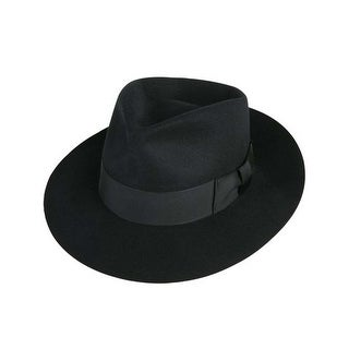 Jackson Fedora Hat in Black