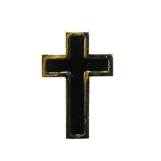Competition Inc. Enamel Cross Lapel Pin - One Size