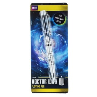 Doctor Who Floating TARDIS Novelty Ballpoint Pen - multi